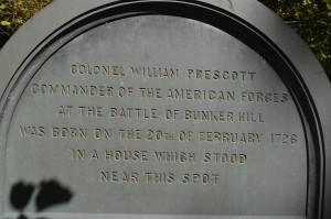 E. Prescott House Monument 1