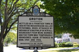G. Groton Sign