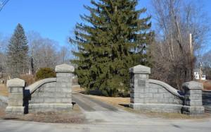 Groton Cemetery Gates